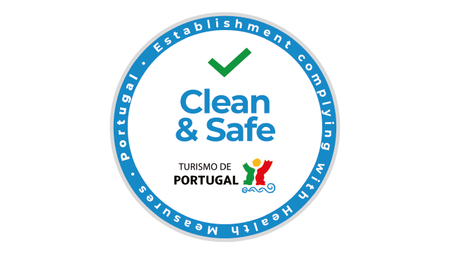 Clean and Safe Badge by Portugal Tourism Board